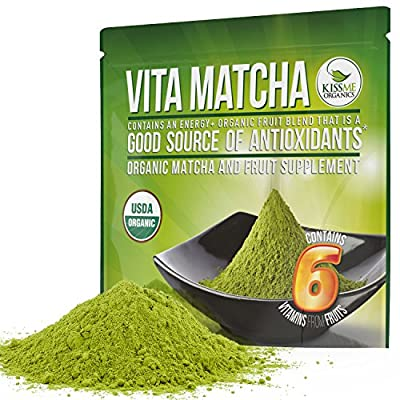 Matcha Green Tea Powder - Powerful Antioxidant Japanese Organic