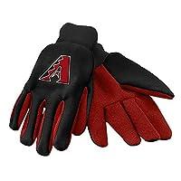 MLB Arizona Diamondbacks 2015 Colored Palm Utility Gloves, Red