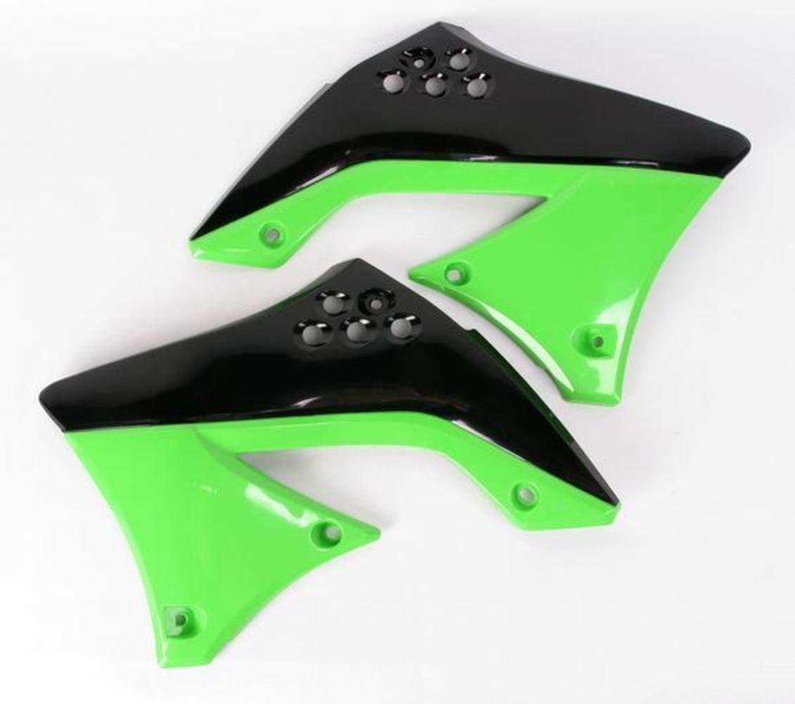 FOR KAWASAKI SHROUD RAD KXF450 10 WHITE UFO KA04713-047 Replacement Plastic