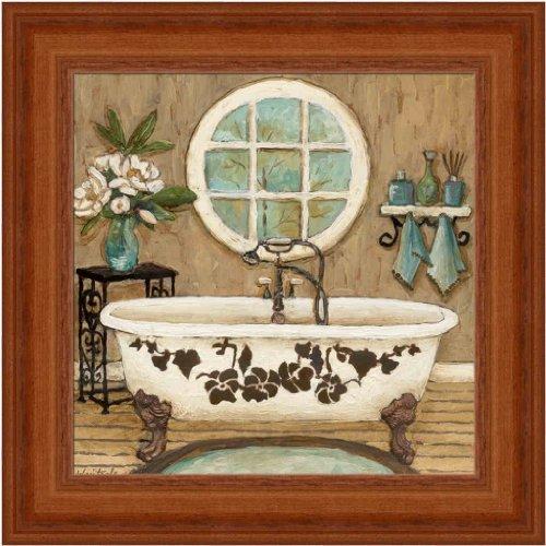 country inn bath i by bathroom decor 725x725 framed art print picture wall decor