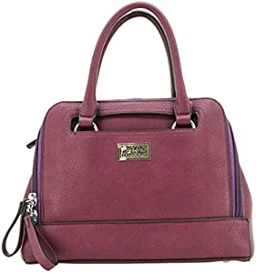 Strategic Cutting Edge Group 49130 Belladonna Concealed Carry Purse: Wine Red
