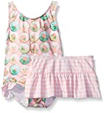 Baby Buns Baby Girls' Sweet Cupcakes Swim With Skirt, Multi, 24 Months