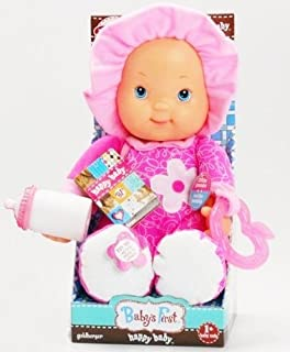 Babys First Happy Baby Interactive Doll with Teether