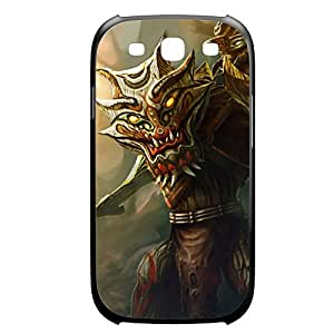 Maokai-001 League of Legends LoL case cover Samsung Galaxy Note4 Plastic Black