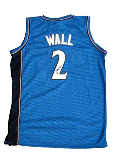 huge selection of a6b5f 4ccaf John Wall Signed Jersey - Away - JSA Certified - Autographed ...