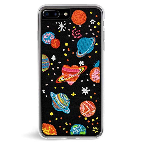 Zero Gravity iPhone 7 Plus / 8 Plus Cosmos Embroidered Phone Case - 360° Protection, Drop Test Approved - Multicolored -