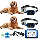 for 2 Dogs Wireless Dog Fence Containment System 194 Acres 1,640 Feet Radius Coverage, Progressive Tone and Static Corrections, Dog Runaway Alert, No Fence to Dig or Wire to Bury GenericDog