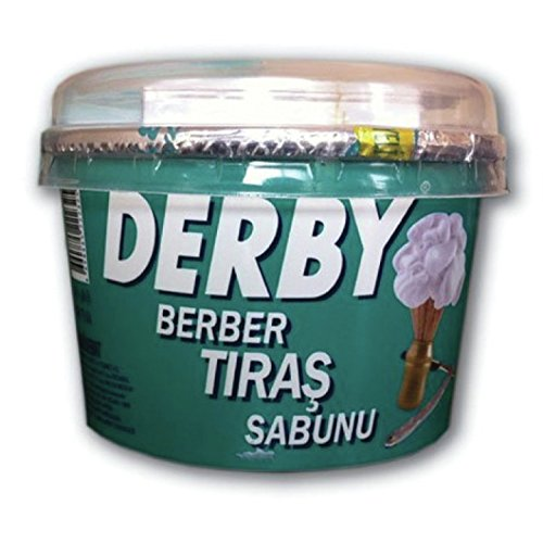 Derby Shaving Soap - 140 gr in Case, 1 Count DRBSP140