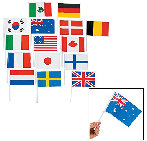 (Flags Of All Nations - Party Decorations & Flags & Buntin (2-Pack of)
