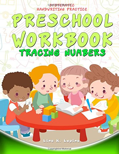 Preschool Workbook: Tracing Numbers: Numbers 0-30