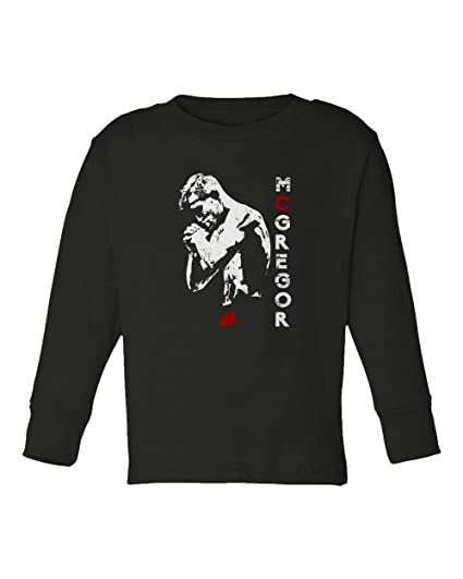 SMARTZONE The King Conor McGregor Big Fight Khabib Little Kids Girls Boys  Toddler Long Sleeve T d50c6a01f