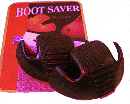 Boots Saver Toe Guards (2 Pair, Black) (Best Point Guard Shoes)