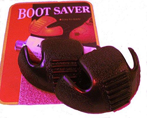 (Boots Saver Toe Guards (2 Pair, Black) )