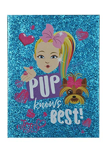 (Edge home JoJo Siwa- Pup Knows Best- Double-Layer Glitter Canvas Standard)