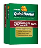 Software : Quickbooks Premier Manufacturing & Wholesale Edition 2008 [OLD VERSION]