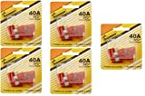 Bussmann (BP/ATC-40-RP) 40 Amp ATC Blade Fuse, Pack of 5 (5)