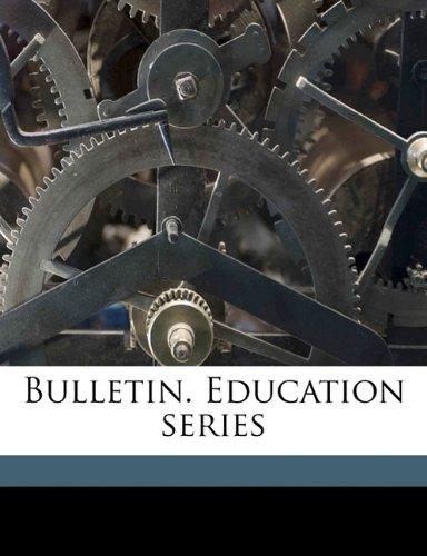 Download Bulletin. Education series Volume 10 no 1 ebook