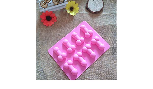 Amazon.com: 1 piece Moldes De Silicone Rendas Para Bolo Sexy Penis Cake Mold Dick Ice Cube Tray Silicone Molds For Soap Chocolate Fondant Cake mold: Kitchen ...