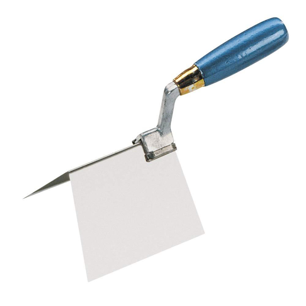 Knauf Außeneck-Spachtel, hochwertiger Eck-Spachtel für Profi-Handwerker und Heimwerker – Eck-Kelle höchster Qualität für saubere 90° Außen-Ecken beim Verspachteln 4698