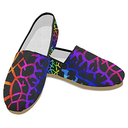 Interestprint Mujeres Loafers Classic Casual Slip On Zapatos De Moda Sneakers Flats Multi 31