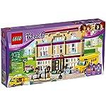 LEGO Friends IlBusdell'Amicizia con Piscina e Scivolo,Playset Vacanze Estive perBambine di 8 Anni, 41395  LEGO