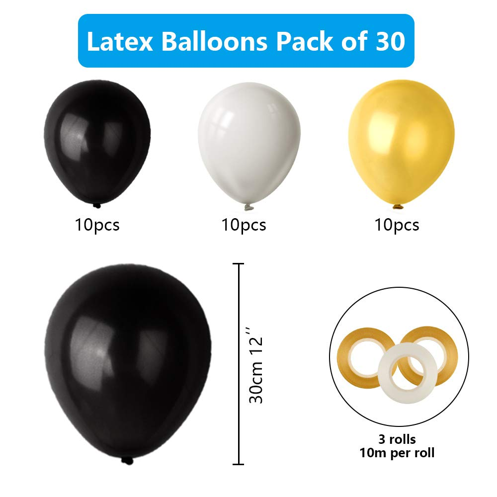 Palloncini con Lamina doro Happy 40th Birthday Decorations for Men And Women TUPARKA 40th Birthday Party Decorations Paper Pom Poms Hanging Swirls 40th Birthday Balloons