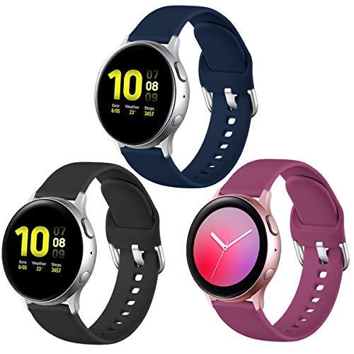3 mallas para reloj Samsung Galaxy Watch Active/Active 2