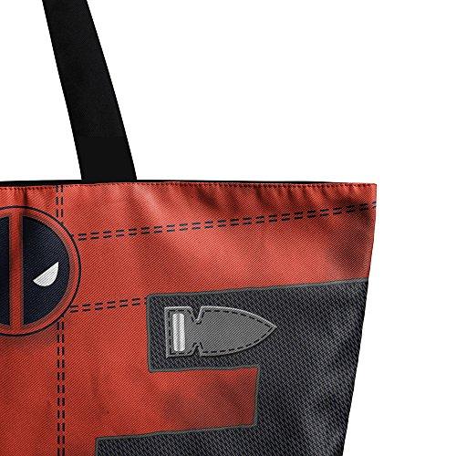 à Fourre Sac tout Lady à Mme Sacs Sac Shopping Mode Main Bandoulière Zipper JPFCAK Impression Sac A Sacs Eco qfXanwTq