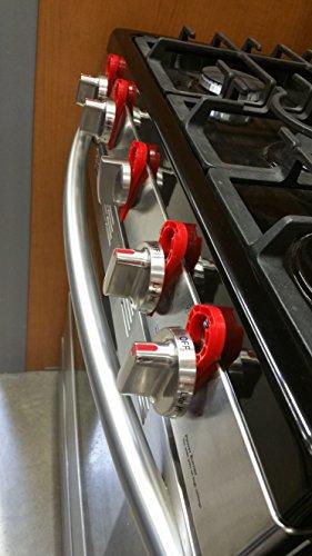 Stove Stoppaz Universal Kitchen Stove Knob Locks 5 Count