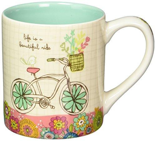 Enesco 4054885 Mug Beautiful Ride, 4.125