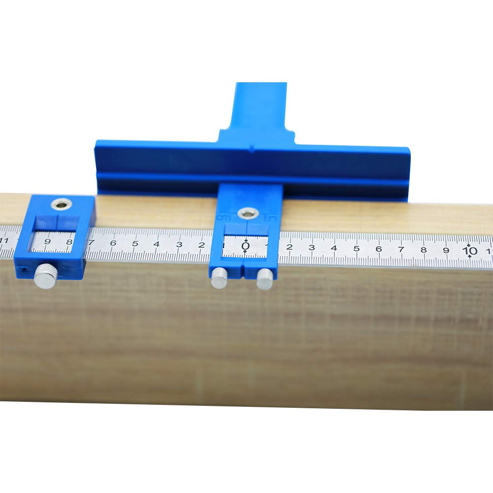 Quick-Set Cabinet Drilling Jig//Template for Easy Installation for Handles and Kn