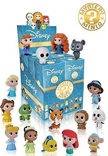 Disney Princesses Mystery Minis Vinyl Figures Set of 12 ()