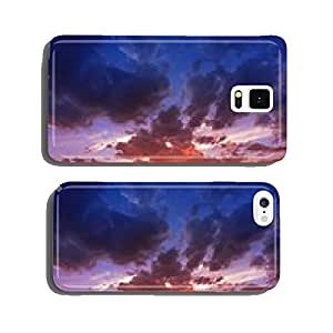 Mountain Range Sunset cell phone cover case iPhone6