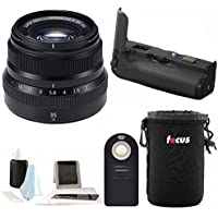 Fujifilm XF 35mm f2 WR Lens with VPB-XT2Vertical Power Booster Grip Kit