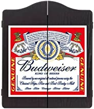 Winmau Budweiser Wooden Dartboard Cabinet