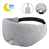 Memory Foam Beauty Sleep Eye Mask - Light Blocking Cotton Soft and Comfortable Sleep Mask &...