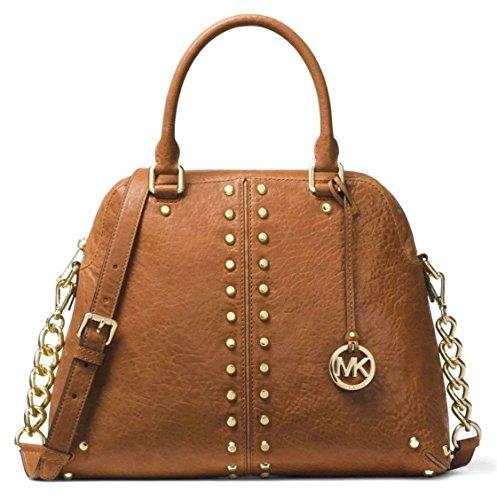 MICHAEL Michael Kors Astor Large Studded Leather Satchel - Online Shop Kors Michael Outlet