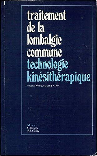 Lire en ligne TRAITEMENT DE LA LOMBALGIE COMMUNE.TECHNOLOGIE KINESITHERAPIQUE. pdf