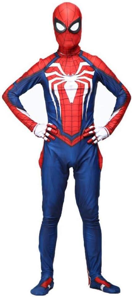 YUQIN Disfraz De Spider-Man para Niños Disfraz De Superhéroe ...