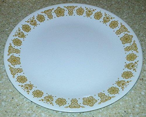 Corelle Butterfly Gold - Corning Corelle Butterfly Gold Salad/Sandwich Plates 8 1/2