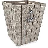 Amazon.com: Asbury WHITE Nautical Themed Galvanized Steel Metal