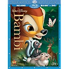 Bambi (Two-Disc Diamond Edition Blu-ray/DVD Combo in Blu-ray Packaging) (1942)