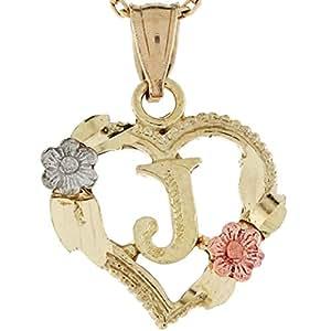 Amazon.com: Jewelry Liquidation 10k Three Tone Real Gold