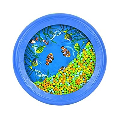 Baby Toddler Colorful Ocean Wave Drum Sea Sound Early Educational Toy Tool : Baby