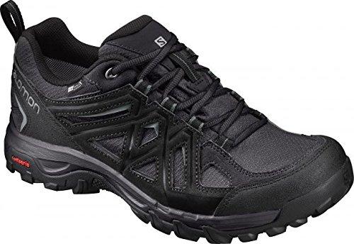 Game Plan Gear - Salomon Men's Evasion 2 CS Waterproof Hiking-Shoes, Magnet, 12 M US