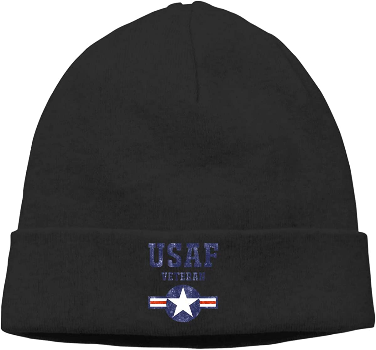 CgyOIUY-lop Beanie Hat Warm Hats Skull Cap Knitted Hat Air Force USAF Veteran