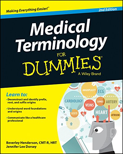 Pdf Medical Books Medical Terminology For Dummies
