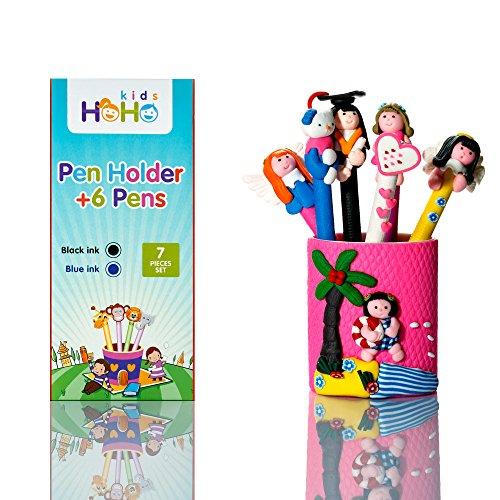 Penguin Costume Face Paint (HOHO Kids Lovely Stationery Set of 6 Pens and Pen Holder)