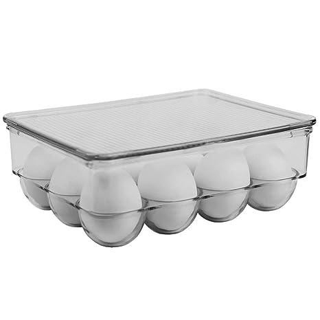 Amazon.com: Home Basics FB41605 12 Plástico Stackable ...