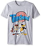 Looney Tunes Men's Space Jam Tune Squad T-Shirt, Heather Grey, Medium
